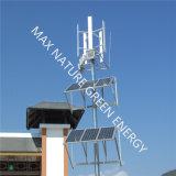 Pequeña turbina de viento vertical de Vawt para el sistema híbrido del viento solar