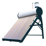 Calefator de água solar evacuado do sistema solar das câmaras de ar (non-pressurized)