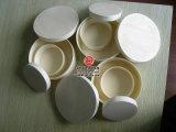 木製材料の円形の整形木のチーズ荷箱
