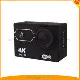 A câmera a mais barata da ação 4K com a câmera impermeável dos esportes DV de WiFi 30m