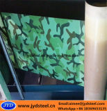 Blad van Meta van het Staal van de camouflage het Patroon Vooraf geverfte in Rollen/Broodjes