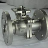API válvula de bola flotante con ISO5211 almohadilla de montaje