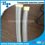 Teflon Flexibele Slang PTFE met Ss 304/306 Vlecht