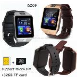 2g 통신망 승진 선물 Bluetooth 3.0 지능적인 시계 전화 Dz09