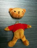 Paypal Payment Promotional Plush Bear USB Flash Disk Drive 32g (D-061)