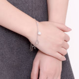 De meesten vormen de Echte Maan van de Armband van Staal 925 en Armband van de Tegenhanger van de Vorm van de Ster de Echte Zilveren