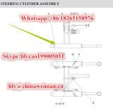 Sdlg LG956L LG958L 바퀴 로더 예비 품목 조타 실린더 Hsgl-90*50*424-835 4120000553