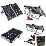 складывая панель солнечных батарей 200W для располагаться лагерем в празднике