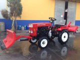 12HP Electric Start Mini Farm Tractor с Rotary Tiller/Mower/Trailer
