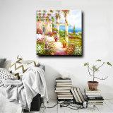 Les paysages naturels Tableau-mur Home Decor grande peinture de paysage de jardin d'illustrations de l'huile