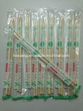 Plástico, envuelto, bambú, palillos, sushi