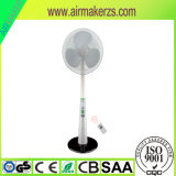 Ventilatore ricaricabile solare del basamento con indicatore luminoso