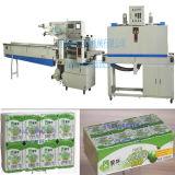 De volledige Automatische Kop van de Yoghurt krimpt Verpakkende Machine