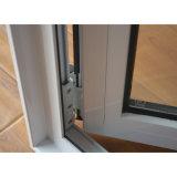 Cubierto con polvo de aluminio Perfil de ventana de bisagras K03001