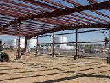 A construção Prefab projetou a vertente de aço do armazenamento da vertente das aves domésticas do armazém