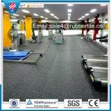 Pavimentazione di gomma di gomma di esercitazione di pavimentazione di ginnastica per l'esportazione