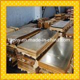 Латунная названная плита, декоративная латунная плита