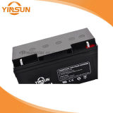 12V 65ah Solarbatterieleitungs-saure Batterie für Inverter UPS
