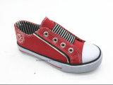 大きいゴム(ET-LH160273K)が付いている低い上の子供の偶然靴