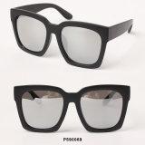 Óculos de sol plásticos desproporcionados das mulheres da forma nova de Eyewear