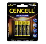 Superqualitätsalkalische Batterie AAA/Lr03