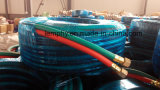 Boyau jumeau de PVC de matière plastique d'offre d'usine pour la soudure
