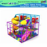 Parque de trampolim interior com equipamento de deslizamento para venda (M11-C0015)