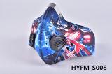 Il filtro Pm2.5 dal carbonio mette in mostra la maschera di protezione mezza di riciclaggio del pattino del motociclo