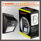 Indicatore luminoso del sensore solare di 20 SMD LED con la funzione registrabile di luminosità (SH-2006A)