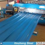 Folha ondulada de aço galvanizada Manufactory da telhadura de China