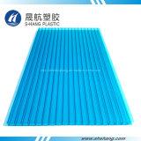Hoja coloreada del material para techos del policarbonato para la decoración (SH17-HT53)