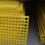 С покрытием из ПВХ сварной проволочной сеткой