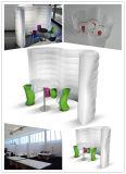 DIY Bureau gonflable Forme d'onde mur gonflables pour la réunion