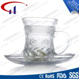 110ml Wholesale Super White Glass Coffee Set (CHM8459)