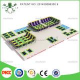 Китай Вэньчжоу Тип Skyzone парк развлечений для использования внутри помещений игровая площадка батут с пеной смолой