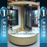 二重層のガラス厚さ1.0mm~3.0mmの時のHuiyeのアルミニウム引き戸