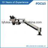 Microscópio ótico portátil profissional do funcionamento