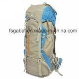 Camper de déplacement en nylon léger de sports en plein air de Ripstop augmentant le sac à dos de sacs