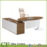 Executive moderno Table Office Desk con Side Cabinet
