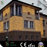 La navidad Flash LED de luz de la cortina para la construcción de la Decoración de pared