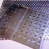 1개 M x 2개 mm 구멍 & 4개 mm 구멍 피치를 가진 2개 M, 1.5mm 두껍게 직류 전기를 통한 관통되는 판금