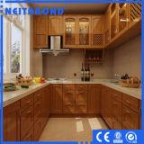 Поставщик из естественной древесины покрытие используется для внутренних дел Decorarion акт