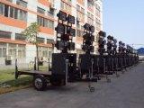 Mástil de 12 metros de altura de la luz de polo de la luz de la torre de planta de iluminación