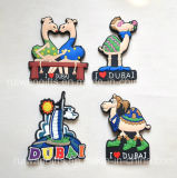 Custom Cartoon 3D Soft PVC Fridge Magnet