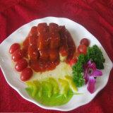 Salsa di pomodori inscatolata, purè del pomodoro, inserimento di pomodoro