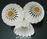 Goose/Volants de badminton de plumes de canard avec 2 ou 3 couches de Cork Tête en bois pour les sports et de la formation