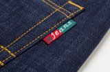 D826 el invierno de espesor Denim Jeans Men's Classic Regular-Fit Jean