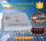 Alignements solaires de picovolte de chaîne de caractères du cadre 11 de combinateur pour le câblage simple