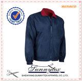 Куртка втулки двойной бортовой тафты ватки реверзибельная длинняя
