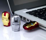 2016 Vengadores Iron Man Pen Drive USB Flash Drive 4GB 8GB 16GB 32GB de memoria USB